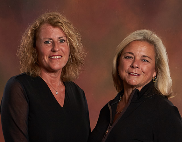 Dr. Holly Brown and Peggy Wolf APRN